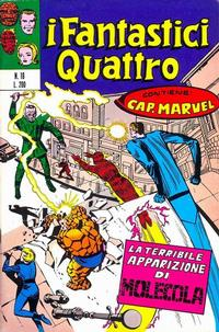 Cover Thumbnail for I Fantastici Quattro (Editoriale Corno, 1971 series) #16