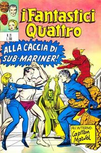 Cover Thumbnail for I Fantastici Quattro (Editoriale Corno, 1971 series) #21