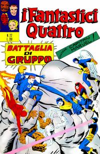 Cover Thumbnail for I Fantastici Quattro (Editoriale Corno, 1971 series) #22