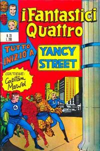 Cover Thumbnail for I Fantastici Quattro (Editoriale Corno, 1971 series) #23