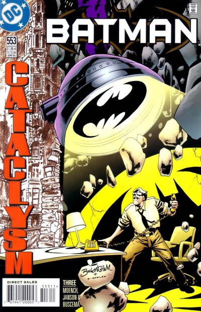 Cover for Batman (DC, 1940 series) #553
