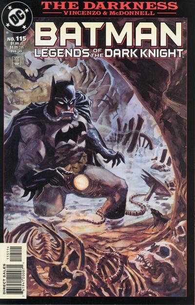 Cover for Batman: Legends of the Dark Knight (1992 series) #115