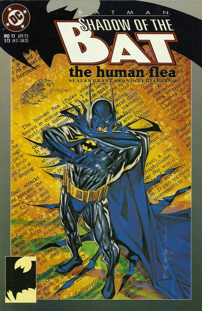 Cover for Batman: Shadow of the Bat (DC, 1992 series) #11