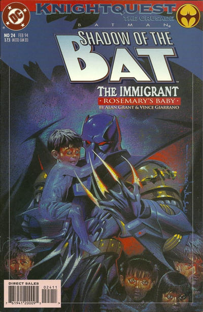 Cover for Batman: Shadow of the Bat (DC, 1992 series) #24