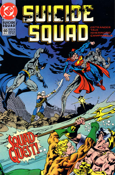 Cover for Suicide Squad (DC, 1987 series) #60