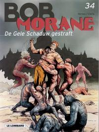 Cover Thumbnail for Bob Morane (Le Lombard, 1975 series) #34 - De Gele Schaduw gestraft