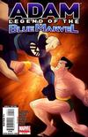 Cover for Adam: Legend of the Blue Marvel (2009 series) #4