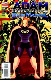 Cover Thumbnail for Adam: Legend of the Blue Marvel (Marvel, 2009 series) #3