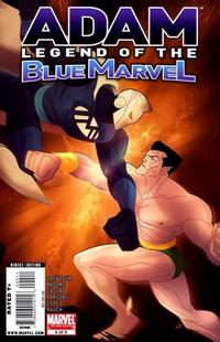 Cover Thumbnail for Adam: Legend of the Blue Marvel (Marvel, 2009 series) #4