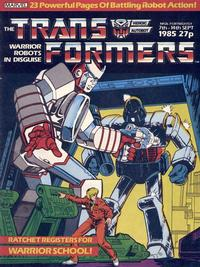 Cover Thumbnail for Transformers (Marvel UK, 1984 series) #26