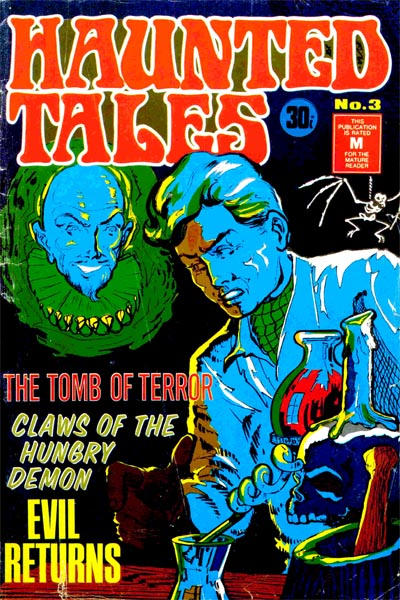 Cover for Haunted Tales (1973 series) #3