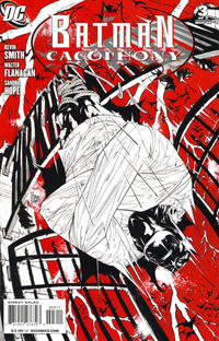 Cover for Batman Cacophony (2009 series) #3 [Limited Edition Variant Cover]