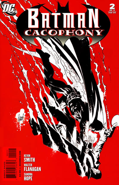 Cover for Batman Cacophony (DC, 2009 series) #2 [Cover A]