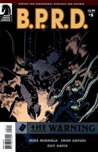 Cover Thumbnail for B.P.R.D.: The Warning (Dark Horse, 2008 series) #5