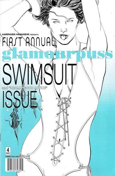 Cover for glamourpuss (Aardvark-Vanaheim, 2008 series) #4