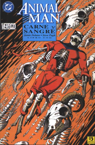 Cover for Animal Man. Carne Y Sangre (Zinco, 1993 series) #1