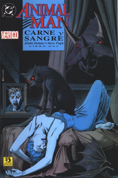 Cover for Animal Man. Carne Y Sangre (Zinco, 1993 series) #2