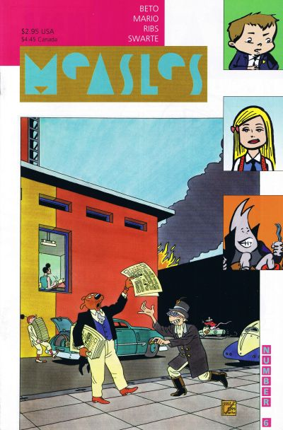 Cover for Measles (Fantagraphics, 1998 series) #6