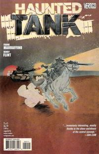 Cover Thumbnail for The Haunted Tank (DC, 2009 series) #2