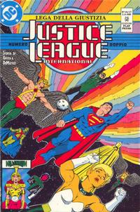 Cover Thumbnail for Justice League [Lega della Giustizia] (Play Press, 1990 series) #16/17