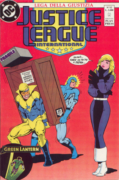Cover for Justice League [Lega della Giustizia] (Play Press, 1990 series) #12