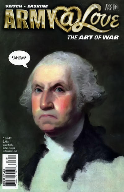 Cover for Army@Love [Army@Love: The Art of War] (2008 series) #5