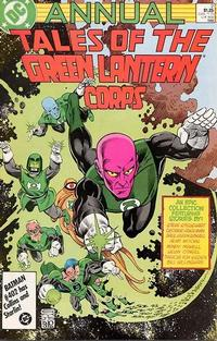 Cover Thumbnail for The Green Lantern Corps Annual (DC, 1986 series) #2