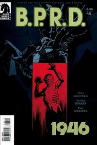 Cover Thumbnail for B.P.R.D.: 1946 (Dark Horse, 2008 series) #4