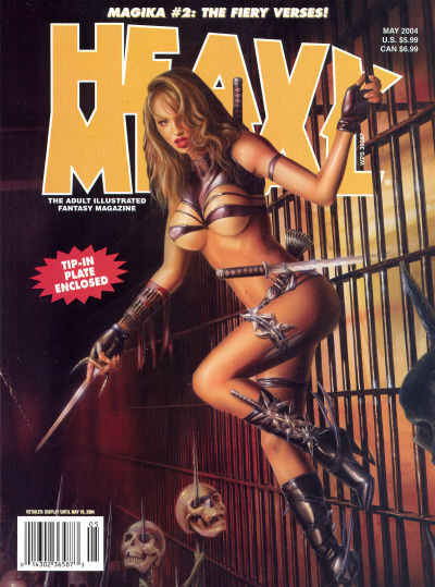Cover for Heavy Metal Magazine (Metal Mammoth, Inc., 1992 series) #v28#2