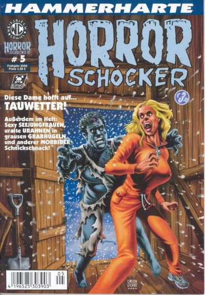 Cover for Horrorschocker (Weissblech Comics, 2004 series) #5