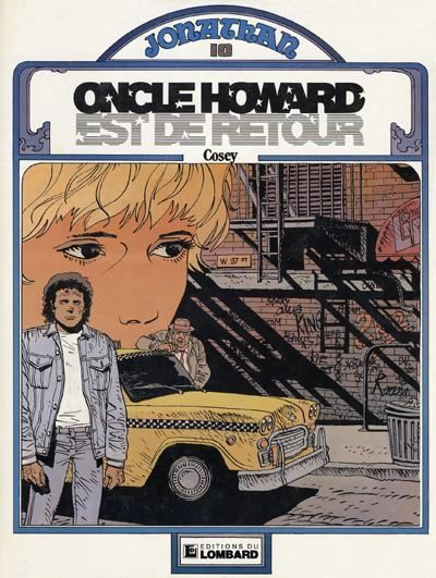 Cover for Jonathan (Le Lombard, 1977 series) #10 - Oncle Howard est de retour