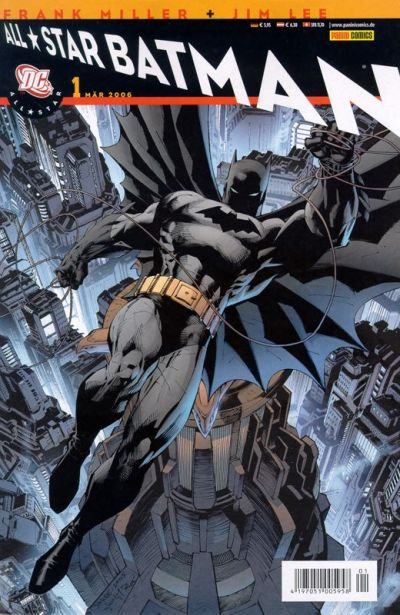 Cover for All Star Batman (2006 series) #1
