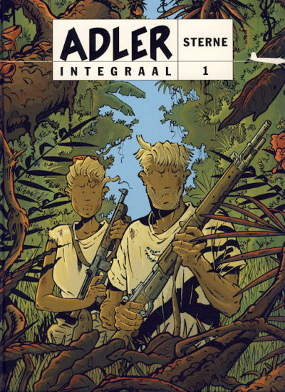 Cover for Adler Integraal (2008 series) #1