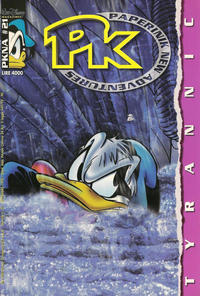 Cover Thumbnail for Pk Paperinik New Adventures (The Walt Disney Company Italia, 1996 series) #21