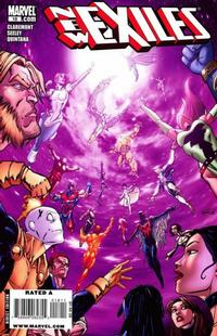 Cover Thumbnail for New Exiles (Marvel, 2008 series) #18
