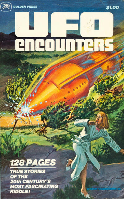 Cover for UFO Encounters (Western, 1978 series) #11404