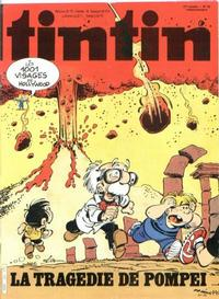 Cover Thumbnail for Nouveau Tintin (Dargaud éditions, 1975 series) #374