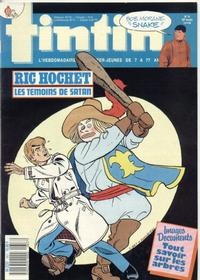 Cover for Nouveau Tintin (1975 series) #657