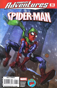 Cover for Marvel Adventures Spider-Man (2005 series) #46