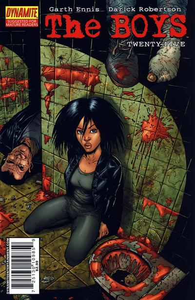 Cover for The Boys (Dynamite Entertainment, 2007 series) #25