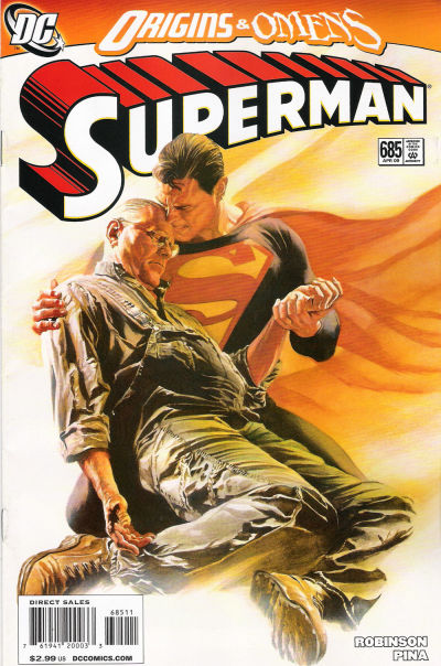 Cover for Superman (DC, 2006 series) #685