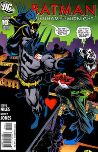 Cover Thumbnail for Batman: Gotham After Midnight (DC, 2008 series) #10
