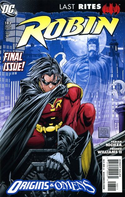 Cover for Robin (DC, 1993 series) #183