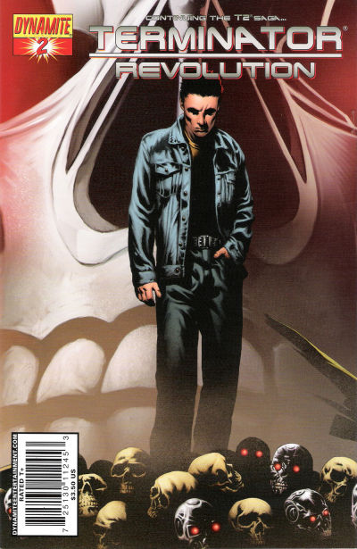 Cover for Terminator: Revolution (Dynamite Entertainment, 2008 series) #2 [Cover B]