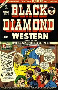 Cover Thumbnail for Black Diamond Western (Lev Gleason, 1949 series) #9