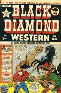 Cover Thumbnail for Black Diamond Western (Lev Gleason, 1949 series) #16