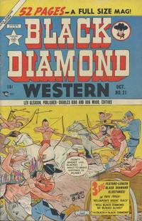 Cover Thumbnail for Black Diamond Western (Lev Gleason, 1949 series) #21