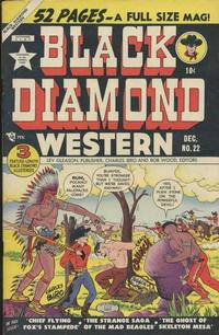Cover Thumbnail for Black Diamond Western (Lev Gleason, 1949 series) #22