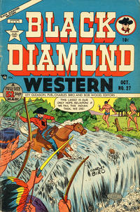 Cover Thumbnail for Black Diamond Western (Lev Gleason, 1949 series) #27