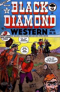 Cover Thumbnail for Black Diamond Western (Lev Gleason, 1949 series) #33